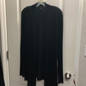 Black t-shirt cardigan